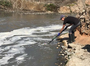 DNA-based community fingerprinting used to link Mexican sewage to U.S. beach pollution